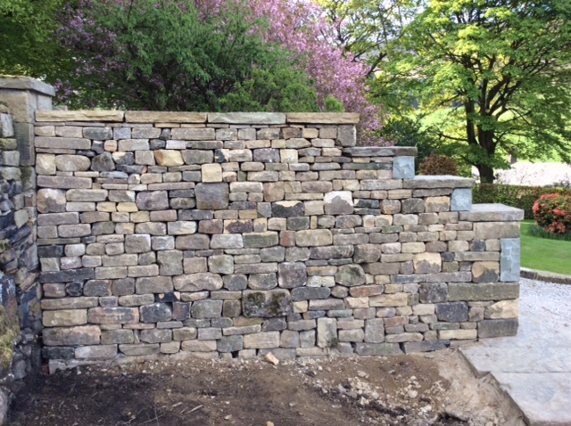 Rogers Garden Stone Gallery landmark walling step down wall workwithnaturefo