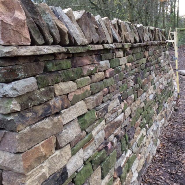 lyme park wall