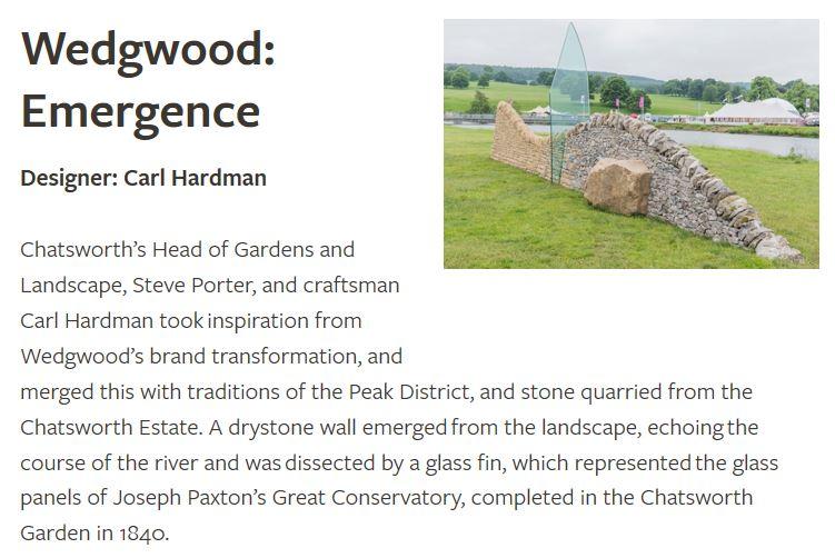 Wedgwood Emergence - Carl Hardman