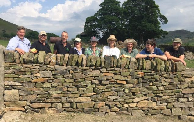 Dry Stone Walling Course Peak District
