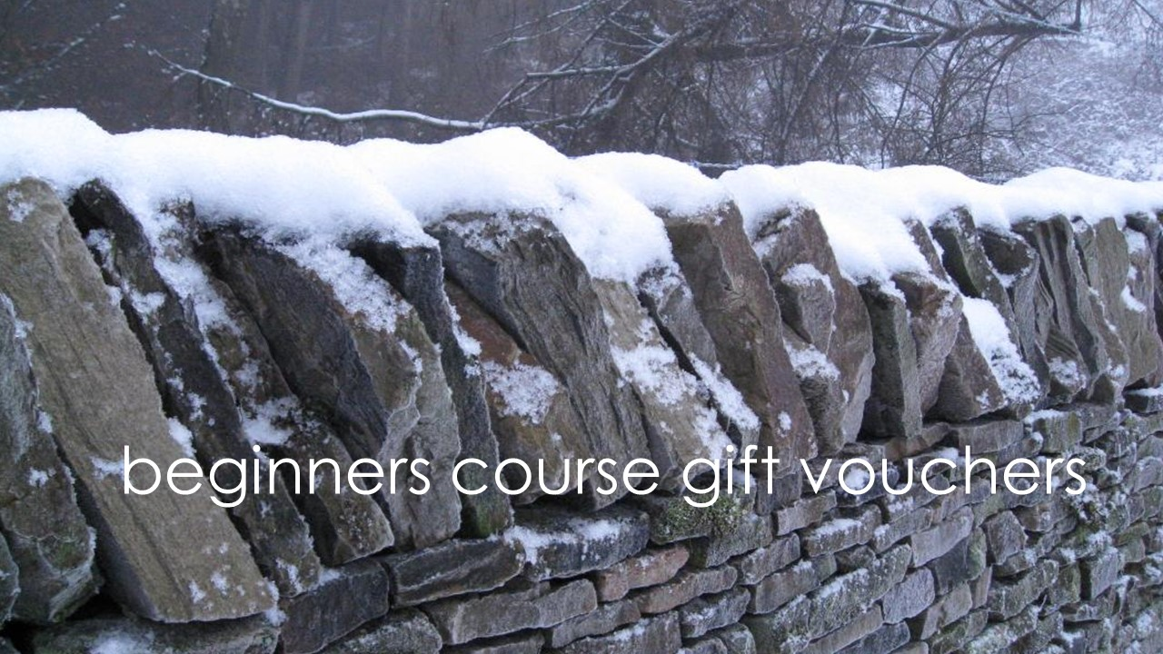 Dry Stone Walling beginners course